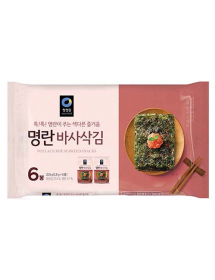 청정원 명란바사삭김 - 3.8g*6