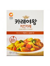 청정원 카레여왕 치킨카레 - 160g