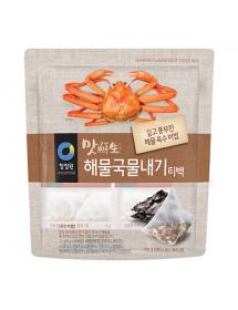 청정원 맛선생 해물국물내기 티백 - 72g