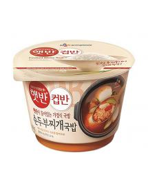 햇반 컵반 순두부찌개국밥 - 173g
