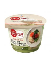 햇반 컵반 고추장나물비빔밥 - 229g