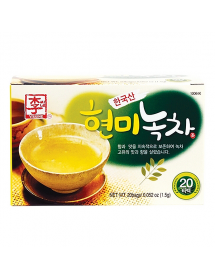Green Tea with Brown Rice -...