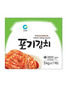 청정원 포기김치 (중국산) - 5kg