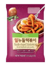 Noodle-shaped Tteokbokki...