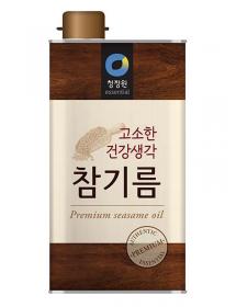 청정원 통참깨참기름 - 1.65l